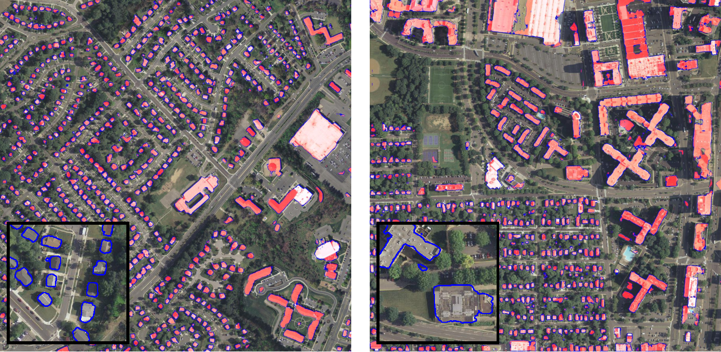 Figure 4 for Automatic Building Extraction in Aerial Scenes Using Convolutional Networks