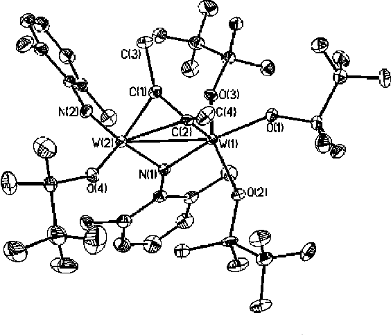 Figure 4 From Some Reactions Involving W N 2 6 Me 2 C 6 H 3