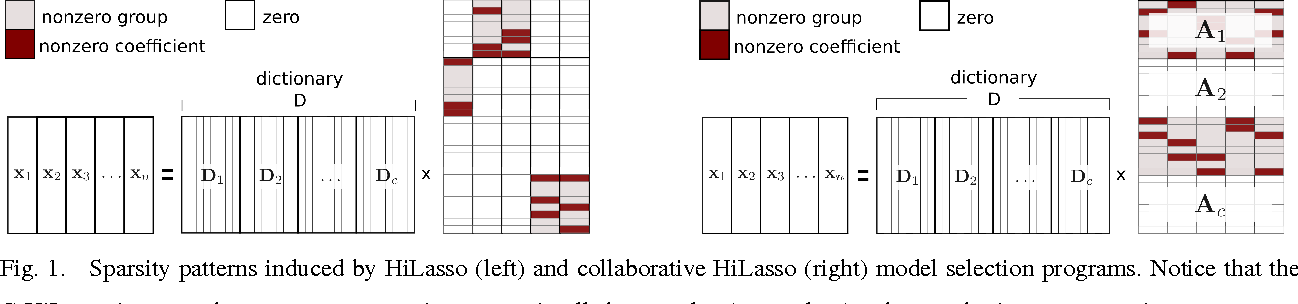 Figure 1 for C-HiLasso: A Collaborative Hierarchical Sparse Modeling Framework