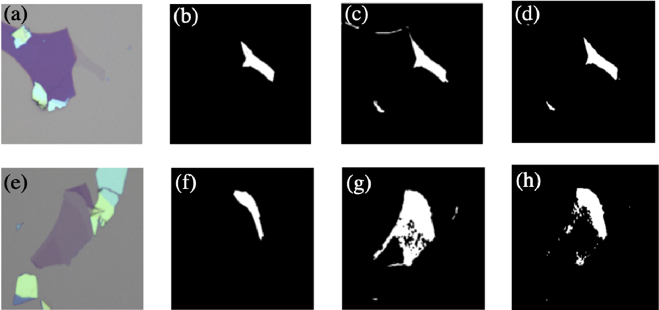 Figure 3 for Machine Learning-based Automatic Graphene Detection with Color Correction for Optical Microscope Images