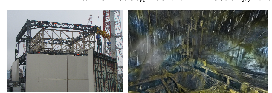 Figure 1 for Nuclear Environments Inspection with Micro Aerial Vehicles: Algorithms and Experiments