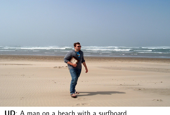 Figure 1 for Let there be a clock on the beach: Reducing Object Hallucination in Image Captioning