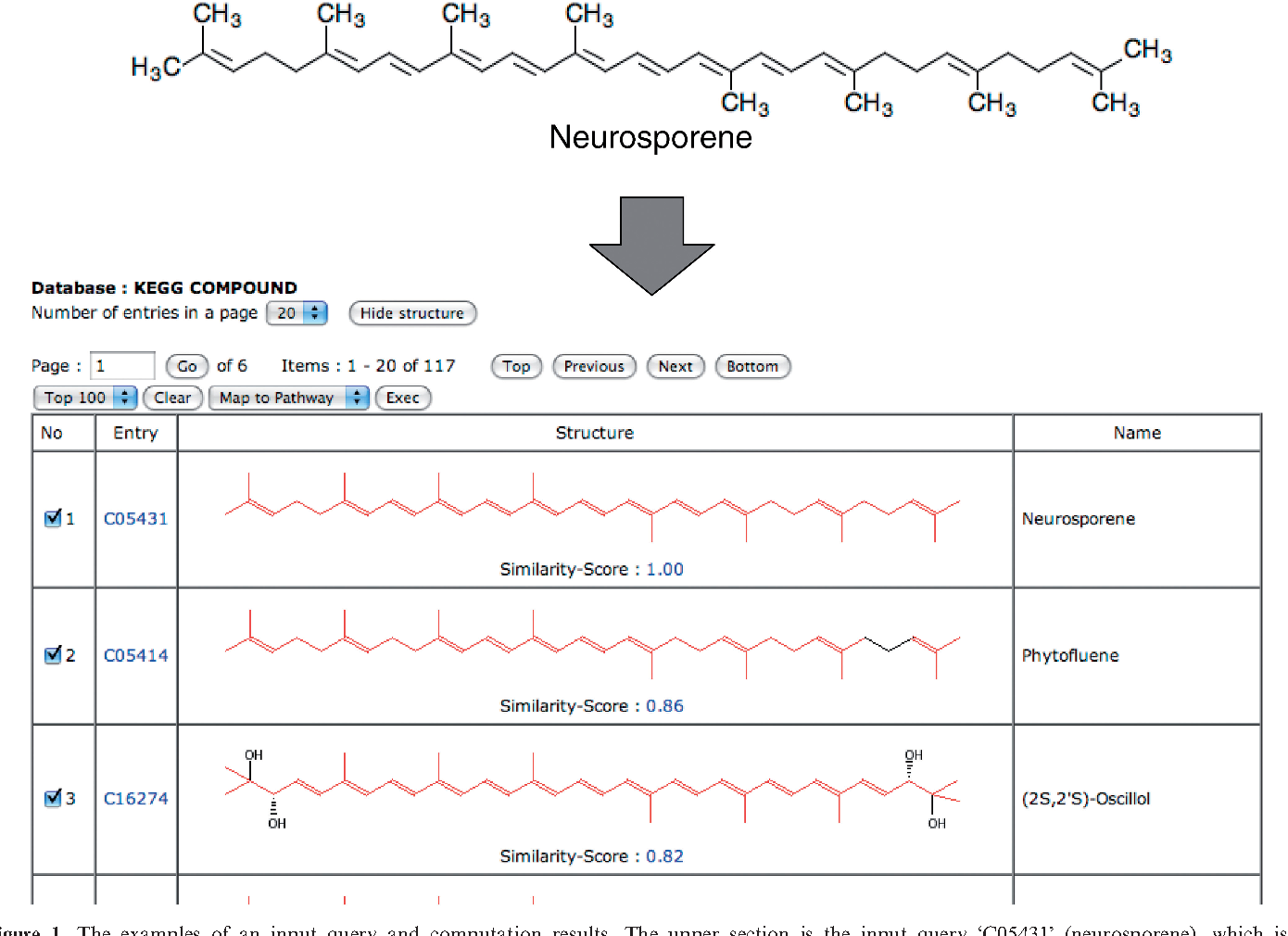 PDF] SIMCOMP/SUBCOMP: chemical structure search servers for