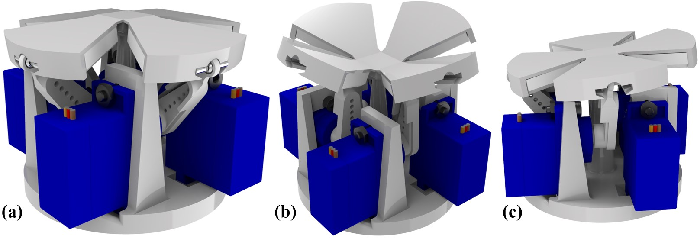 Figure 3 for Origami-based Shape Morphing Fingertip to Enhance Grasping Stability and Dexterity
