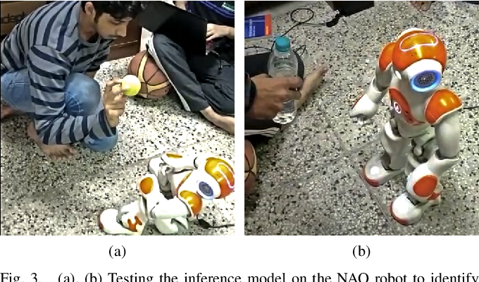 Figure 3 for Real-Time Object Detection and Recognition on Low-Compute Humanoid Robots using Deep Learning