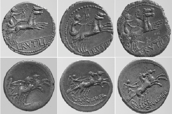 Figure 1 for Ancient Coin Classification Using Graph Transduction Games