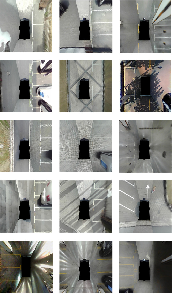 Figure 3 for VH-HFCN based Parking Slot and Lane Markings Segmentation on Panoramic Surround View