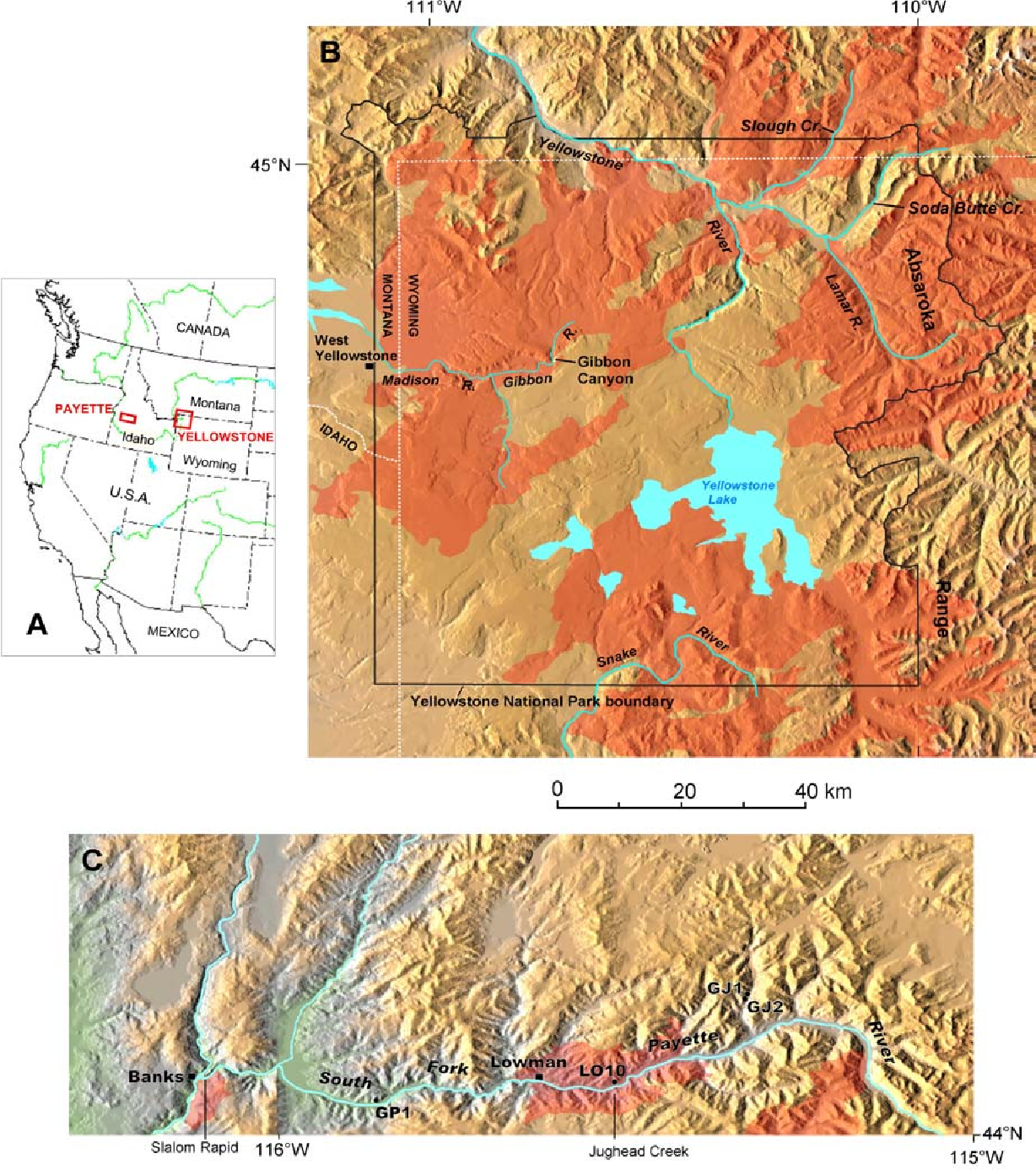 Figure 1 from Climatic controls on fire-induced sediment pulses in on map roanoke va, map wichita ks, map new zealand, map detroit mi, map albany ny, map baltimore md, map greensboro nc, map with mountains, map windsor ca, map richmond va, map facebook covers, map with hawaii, map scottsdale az, map minneapolis mn, map cibolo tx, map casper wy, map norms, map wyoming, map cincinnati ohio, map tulare ca,
