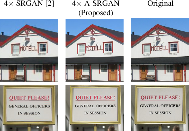 Figure 1 for Efficient Super Resolution For Large-Scale Images Using Attentional GAN