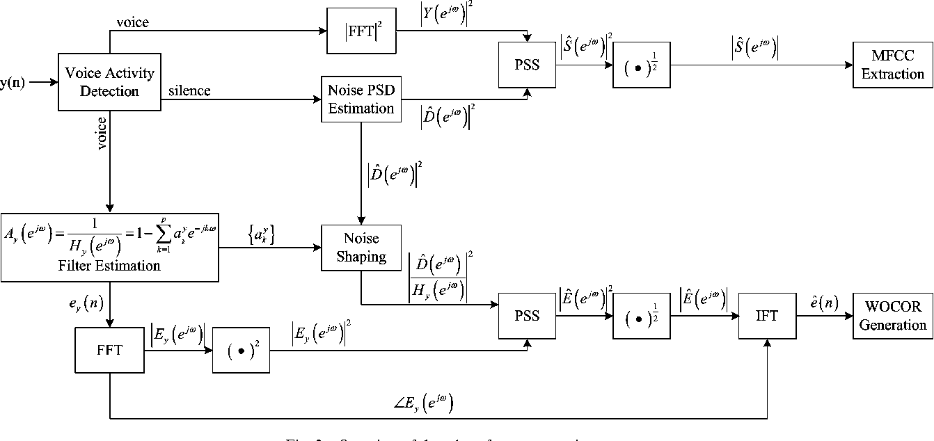 Fig. 2. Overview of the robust feature extraction process.