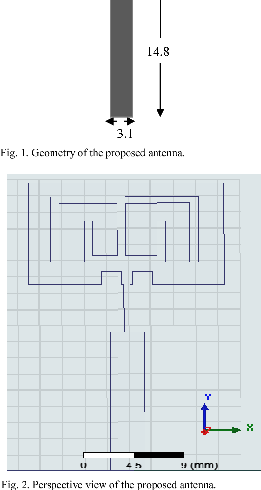 Dual-band microstrip patch antenna design with inverted-E slot and U