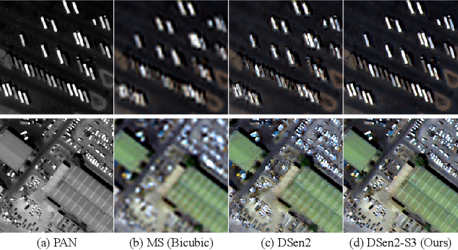 Figure 4 for S3: A Spectral-Spatial Structure Loss for Pan-Sharpening Networks