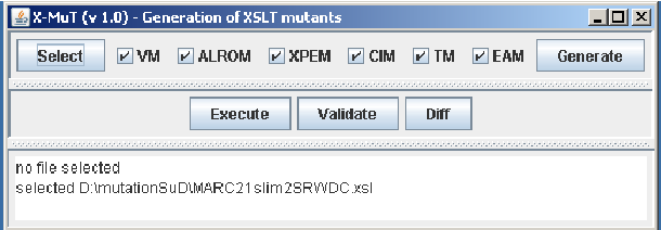Figure 1 from X-MuT: A Tool for the Generation of XSLT
