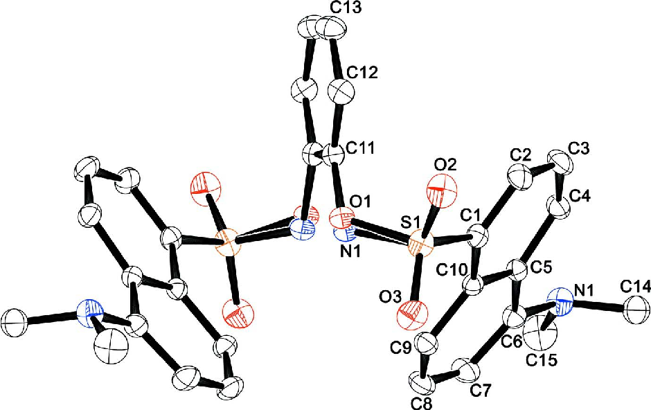 Figure 1 From The Crystal Structure Of 2 5 Dimethylamino