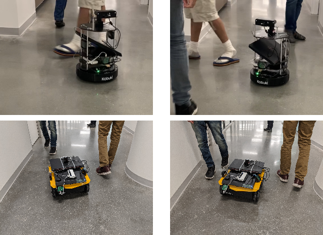 Figure 1 for Realtime Collision Avoidance for Mobile Robots in Dense Crowds using Implicit Multi-sensor Fusion and Deep Reinforcement Learning