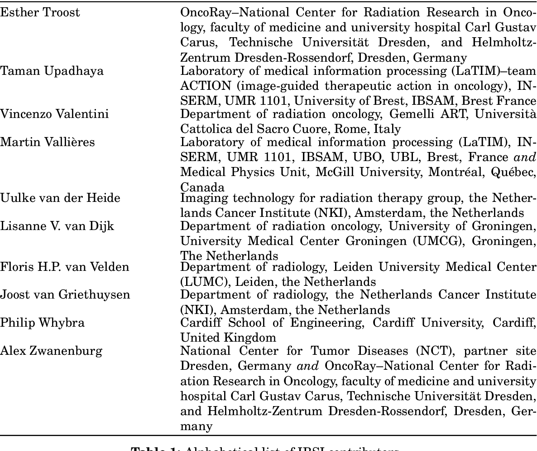 Figure 1 for Image biomarker standardisation initiative