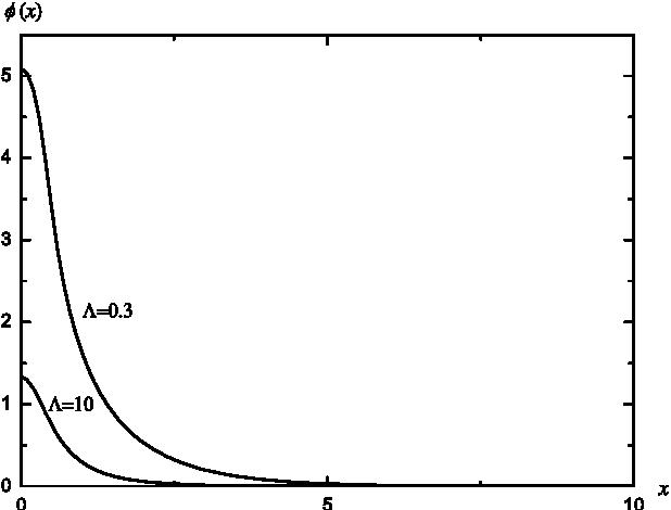 PDF] Non-singular solutions to Einstein-Klein-Gordon equations with