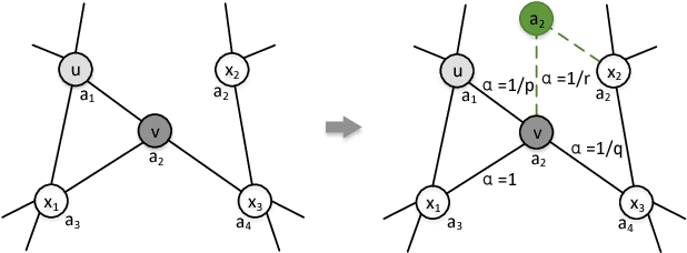 Figure 1 for Flexible Attributed Network Embedding