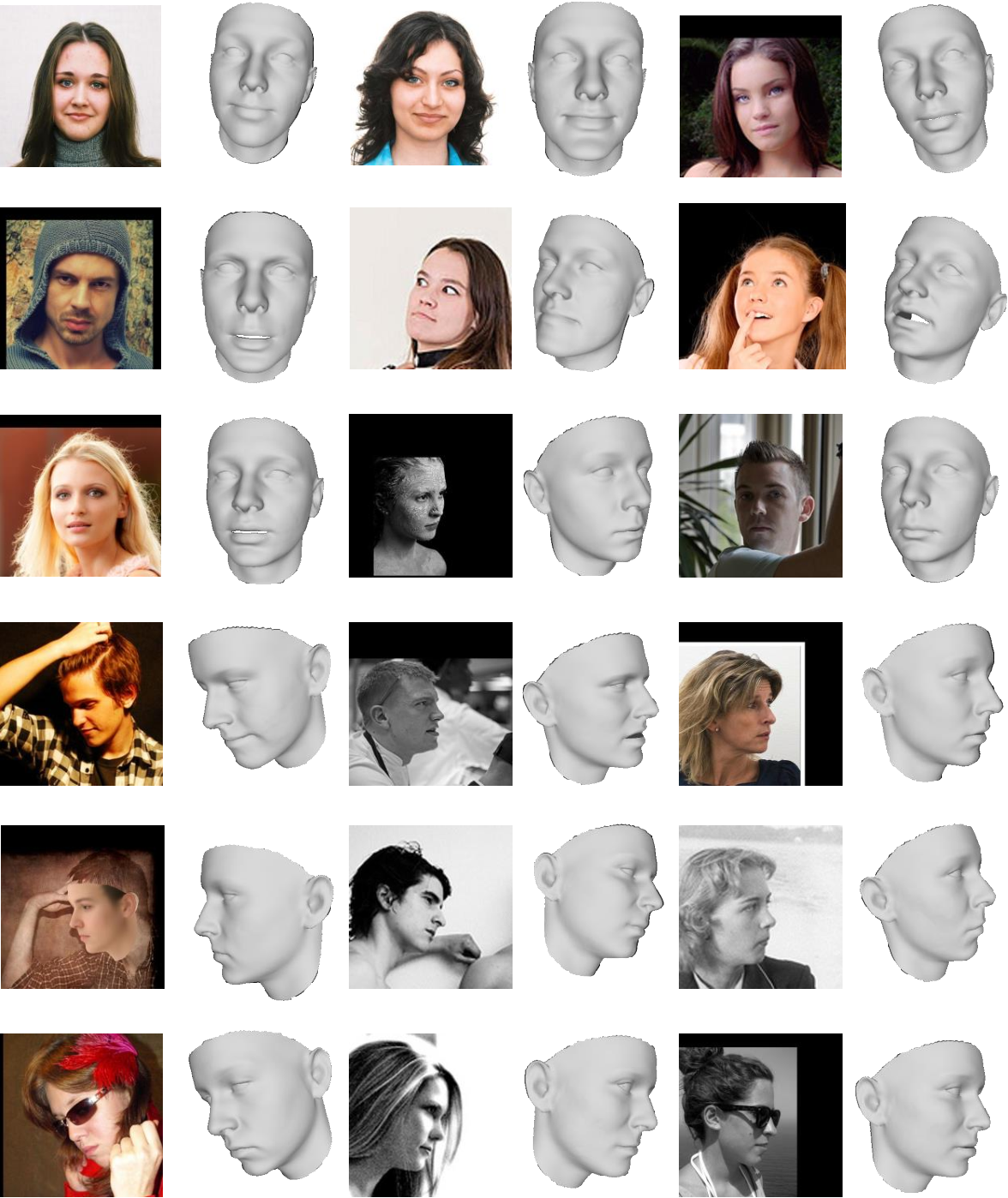 Figure 3 for Adaptive 3D Face Reconstruction from a Single Image