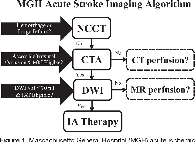 Figure 1 from Current state of acute stroke imaging  - Semantic Scholar