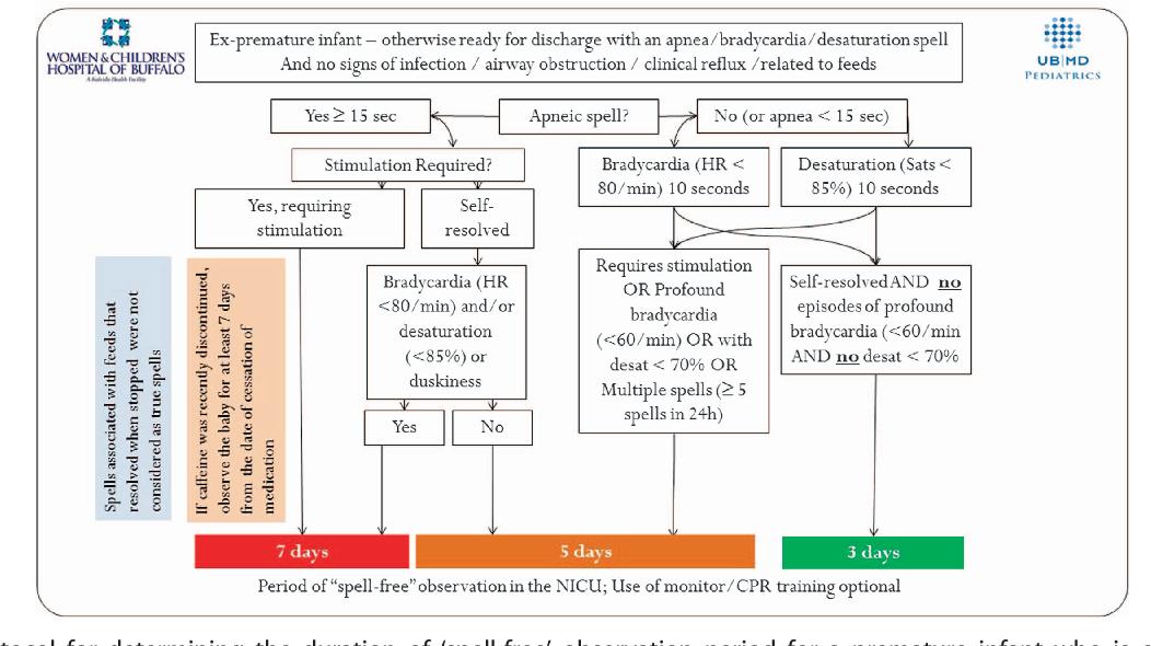 Figure 1 from Apnea, Bradycardia and Desaturation Spells in