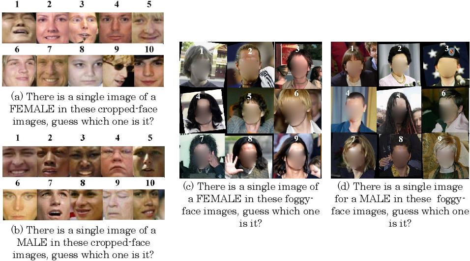 Figure 1 for AFIF4: Deep Gender Classification based on AdaBoost-based Fusion of Isolated Facial Features and Foggy Faces