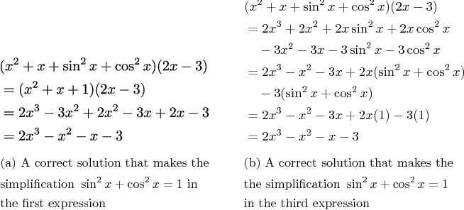 Figure 3 for Mathematical Language Processing: Automatic Grading and Feedback for Open Response Mathematical Questions