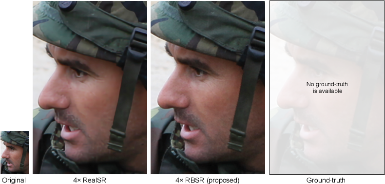Figure 1 for Benefitting from Bicubically Down-Sampled Images for Learning Real-World Image Super-Resolution