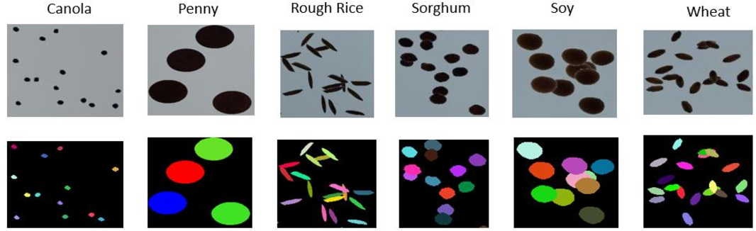 Figure 3 for Seed Phenotyping on Neural Networks using Domain Randomization and Transfer Learning