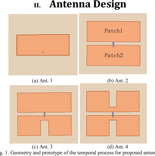Design and application of a directional patch antenna with enhanced