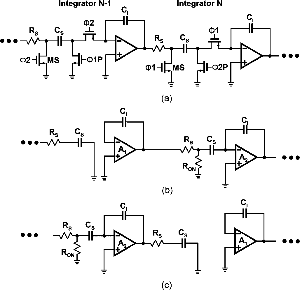 Figure 4 From A 09 V 92 Db Double Sampled Switched Rc Delta Sigma Integrator Circuit Single Sampling Sci