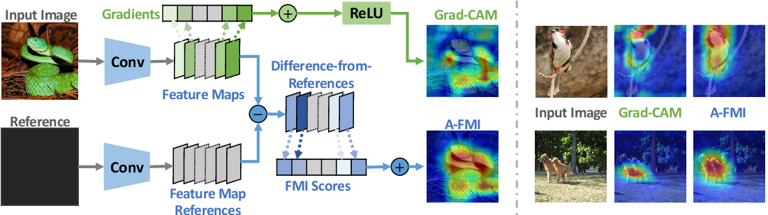 Figure 3 for A-FMI: Learning Attributions from Deep Networks via Feature Map Importance