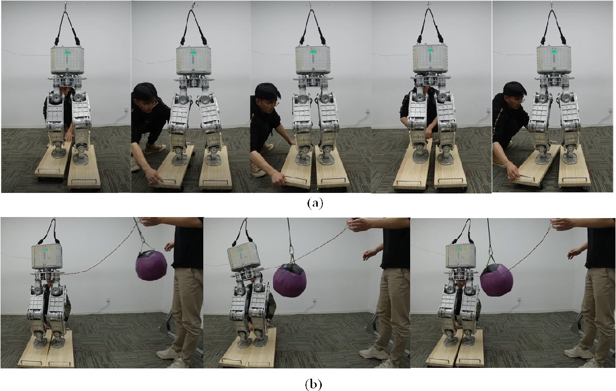 Figure 4 for Dynamic Balancing of Humanoid Robot Walker3 with Proprioceptive Actuation: Systematic Design of Algorithm, Software and Hardware