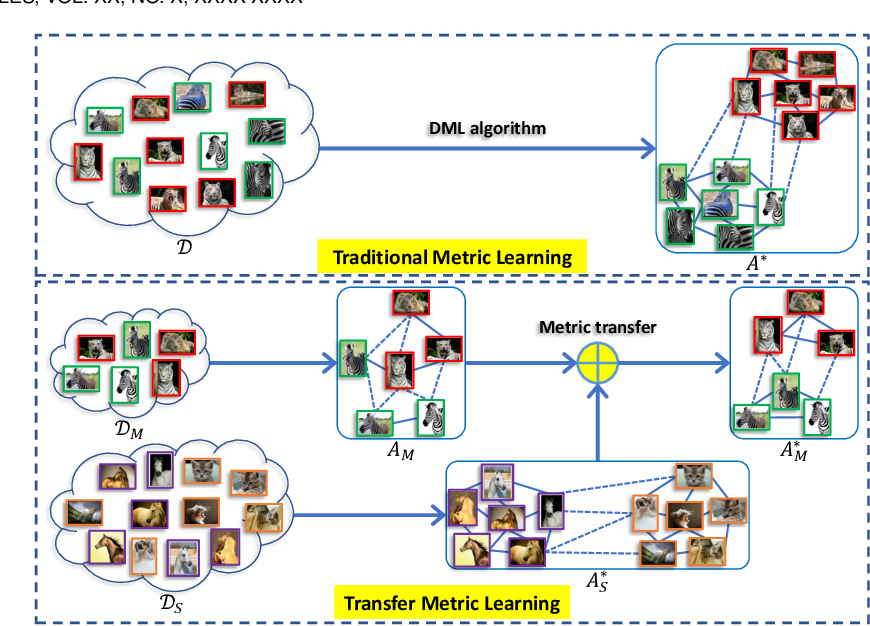 Figure 2 for Transfer Metric Learning: Algorithms, Applications and Outlooks