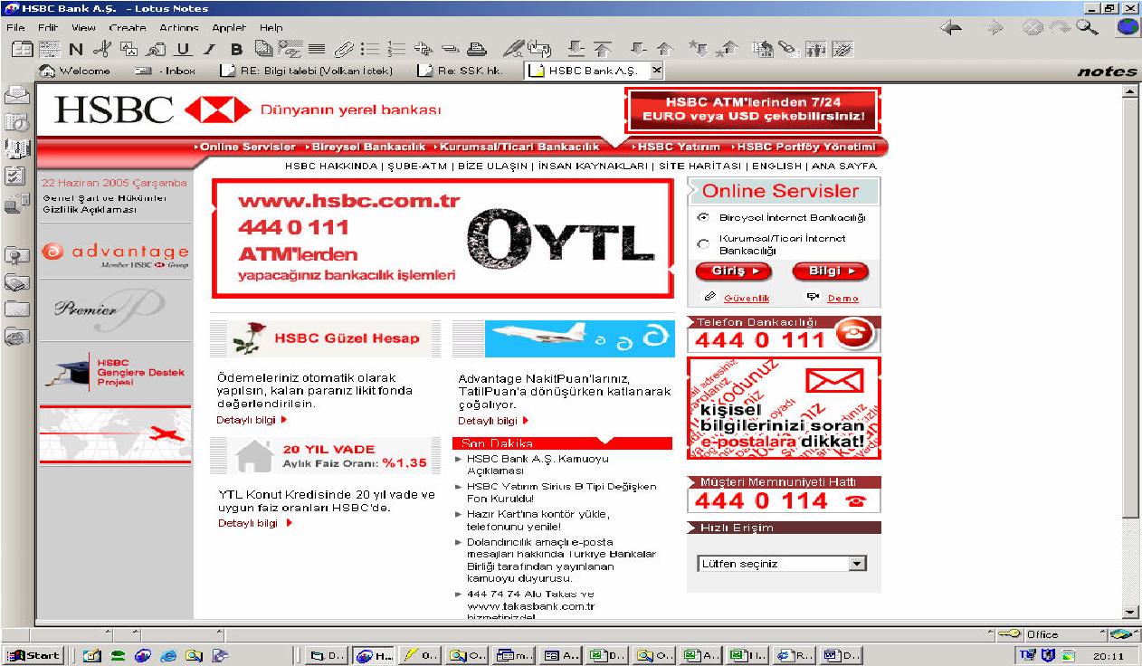 PDF] How Istanbul HSBC Bank Operators Use Lotus Notes Within