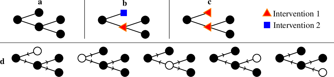 Figure 1 for Near-Optimal Multi-Perturbation Experimental Design for Causal Structure Learning