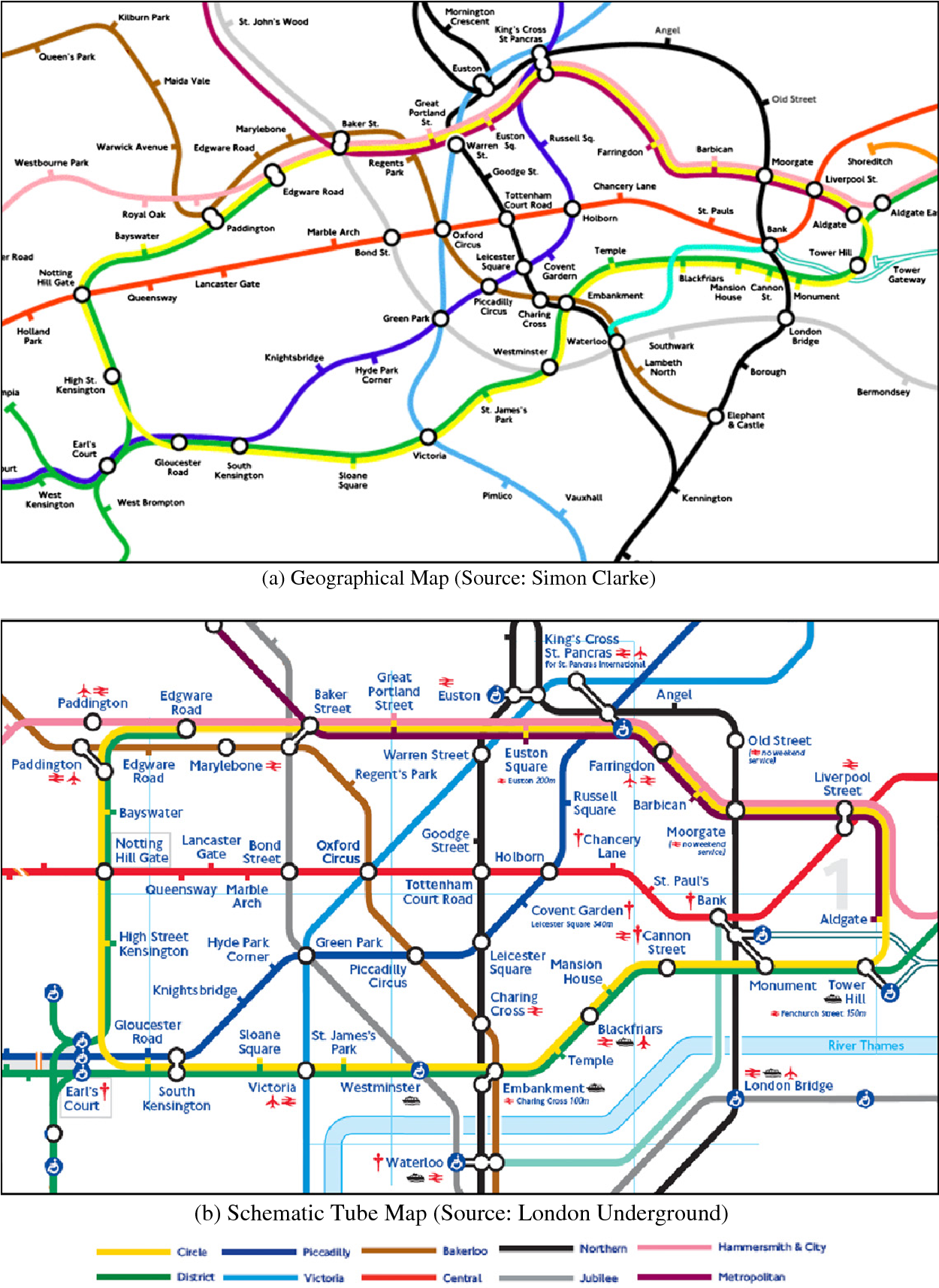 Shanghai Subway Map Vs Acutal.Figure 2 From Mind The Map The Impact Of Transit Maps On Path