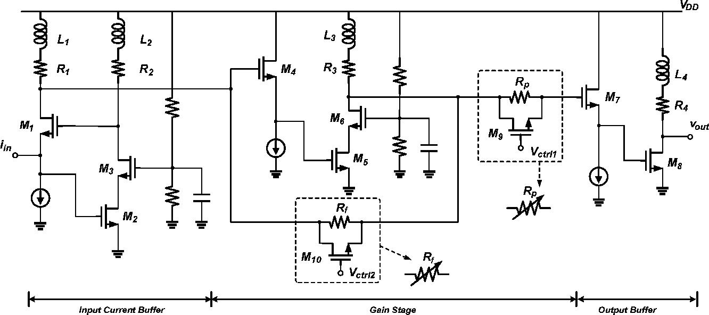 Transimpedance Amplifier Semantic Scholar Circuit Diagram Electronic Circuits Figure 1