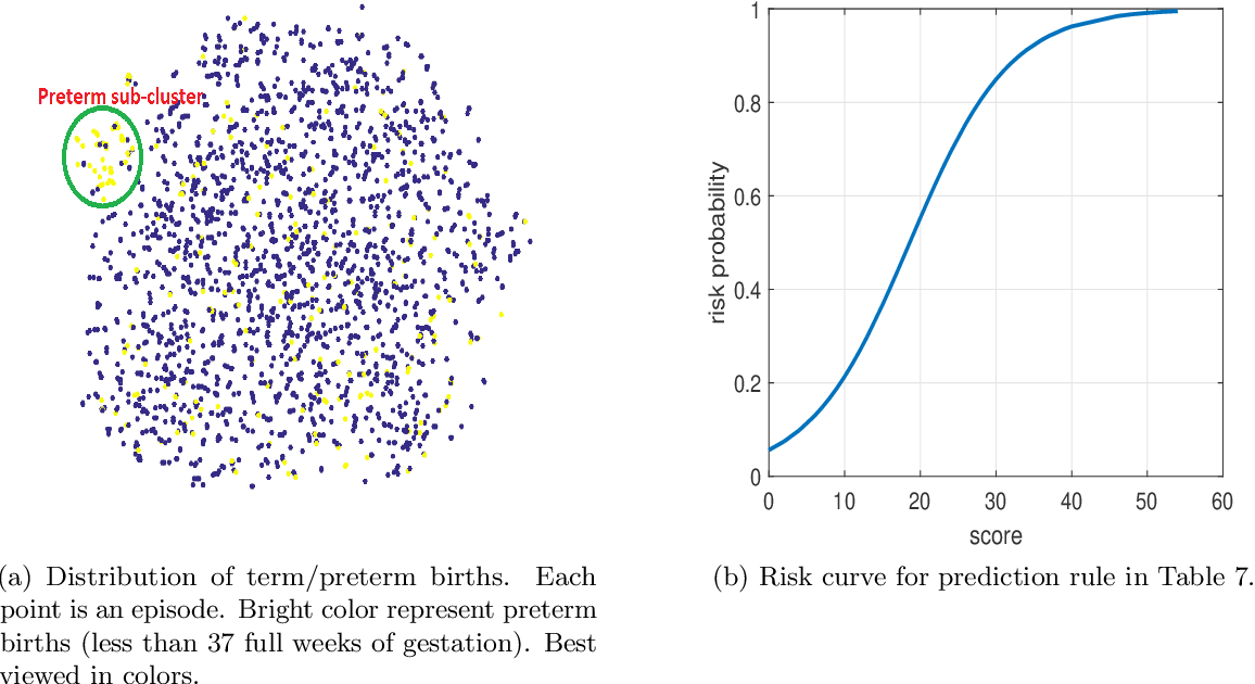 Figure 3 for Preterm Birth Prediction: Deriving Stable and Interpretable Rules from High Dimensional Data