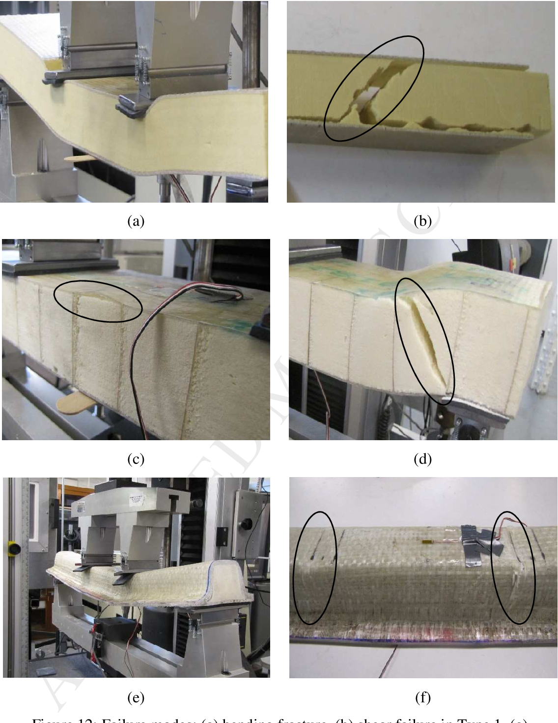 Evaluation of sandwich panels with various polyurethane foam-cores