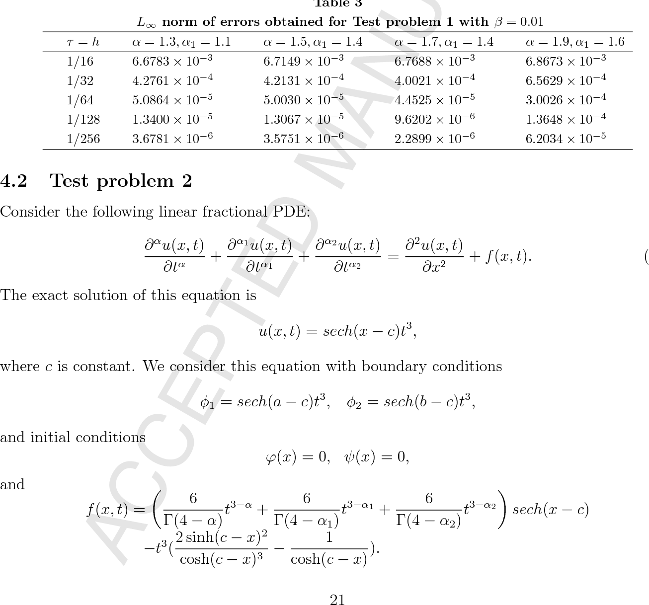 Two high-order numerical algorithms for solving the multi-term time
