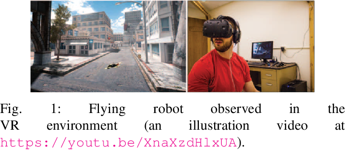Figure 1 for A Path Planning Framework for a Flying Robot in Close Proximity of Humans