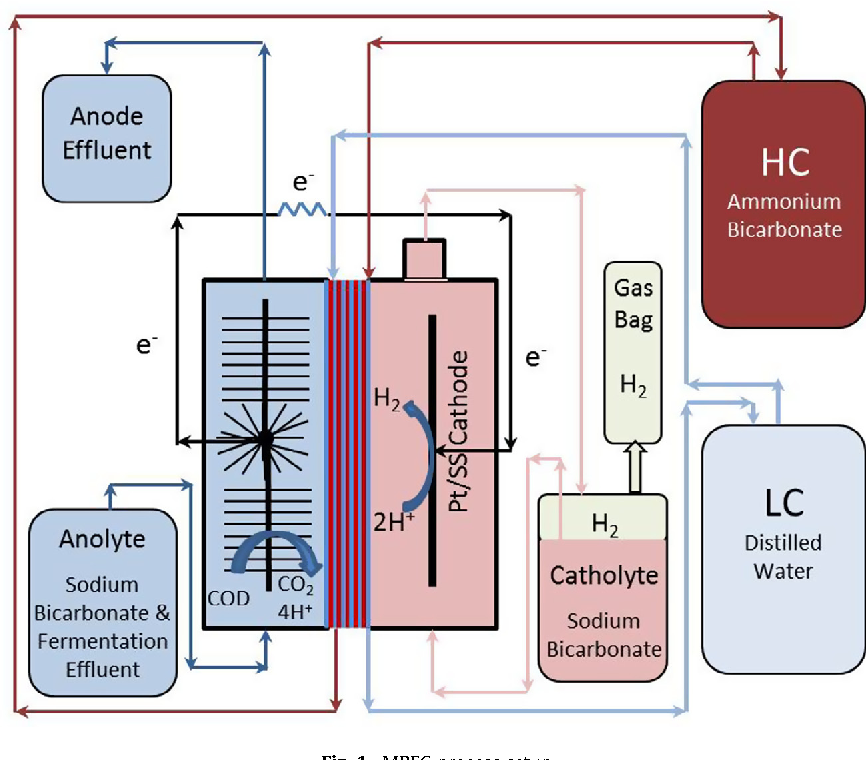 Figure 1 from Hydrogen production from continuous flow, microbial
