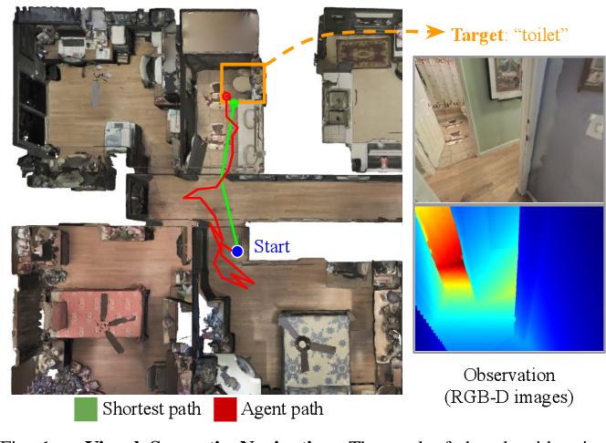 Figure 1 for SSCNav: Confidence-Aware Semantic Scene Completion for Visual Semantic Navigation