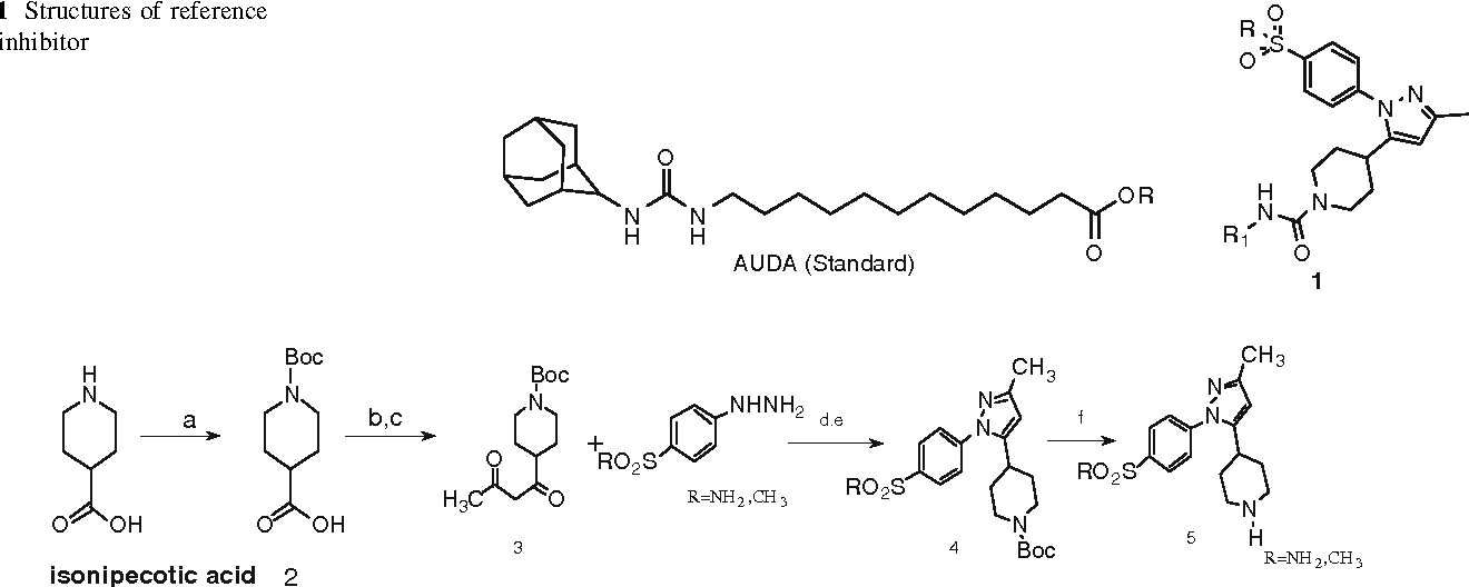 Figure 1 from Design, synthesis and biological evaluation of 4-(1-(4