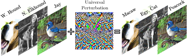 Figure 1 for Universal Adversarial Training