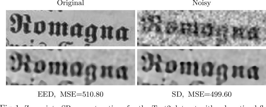 Figure 2 for Multi-frame Super-resolution from Noisy Data
