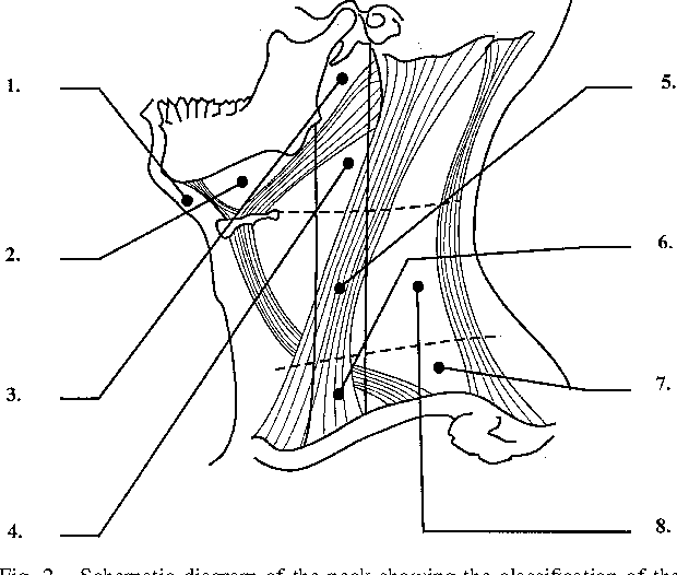 Figure 2 from sonography of neck lymph nodes part i normal lymph 2 schematic diagram of the neck showing the classification of the cervical lymph ccuart Choice Image