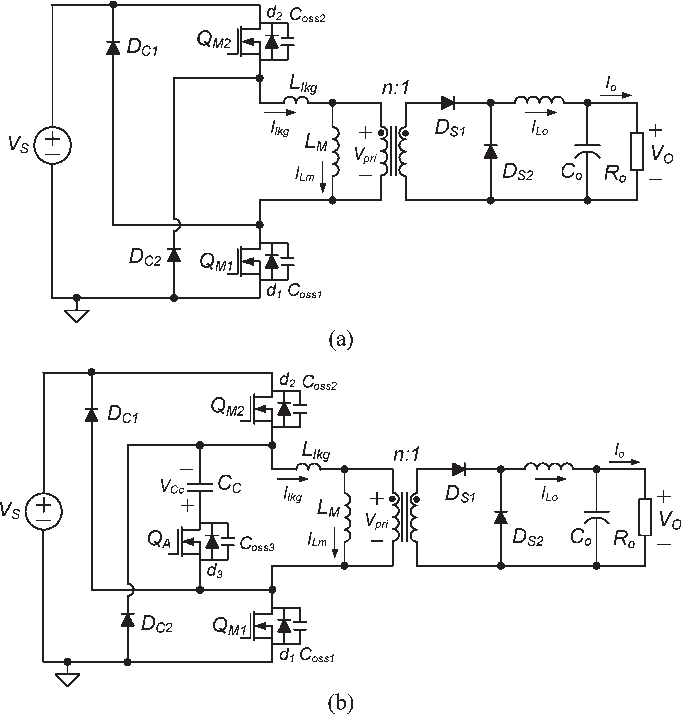 Two-Switch Active-Clamp Forward Converter With One Clamp Diode and ...