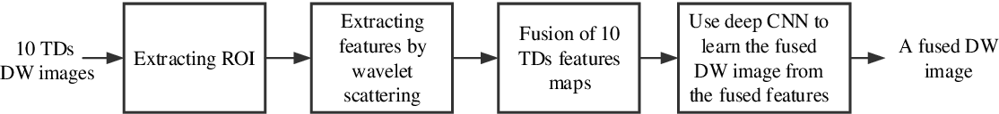 Figure 1 for CNN-Based Invertible Wavelet Scattering for the Investigation of Diffusion Properties of the In Vivo Human Heart in Diffusion Tensor Imaging